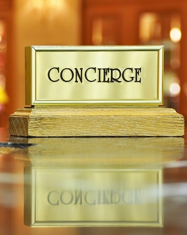 Rochari concierge services desk