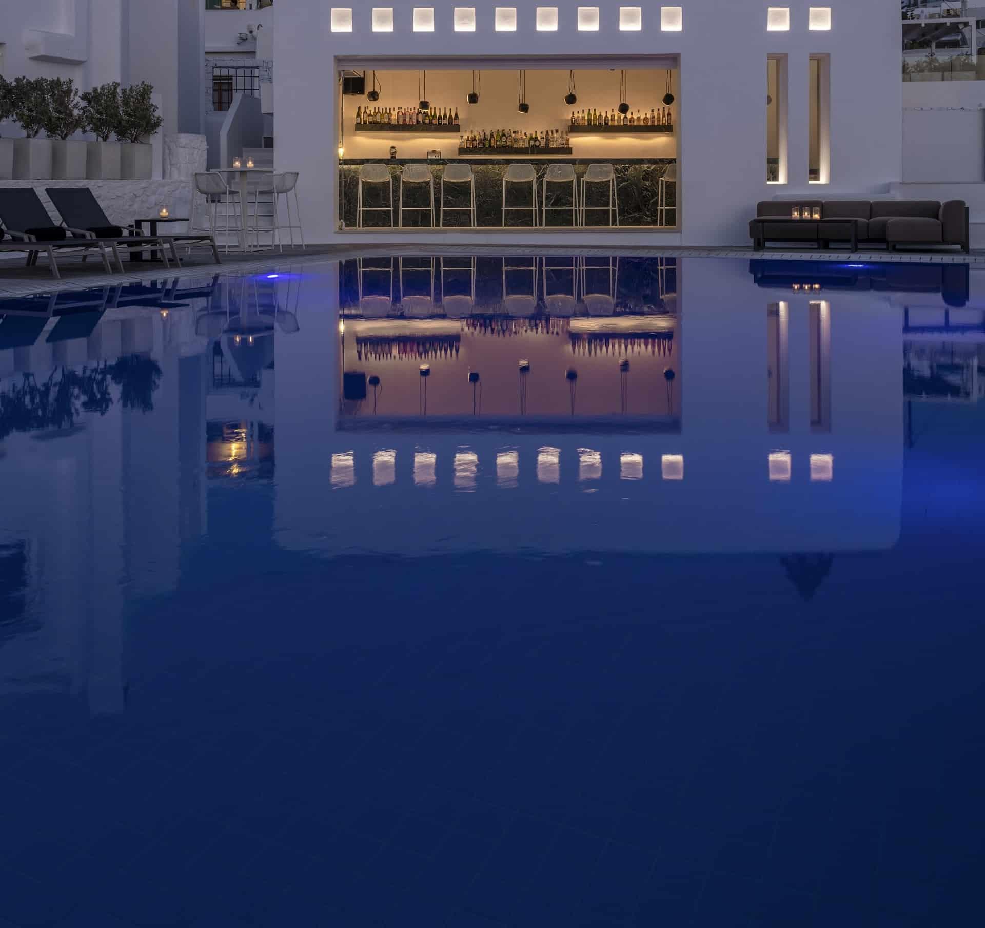 Hotel's Pool Bar Area