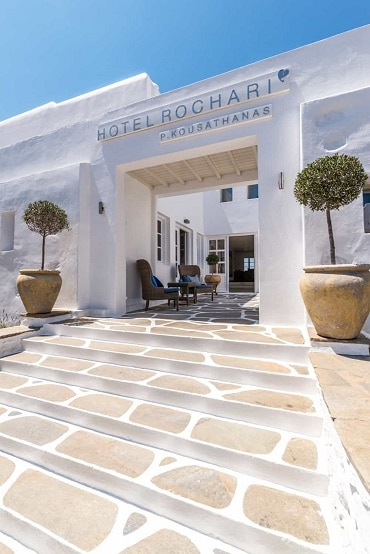 Rochari Hotel Entrance